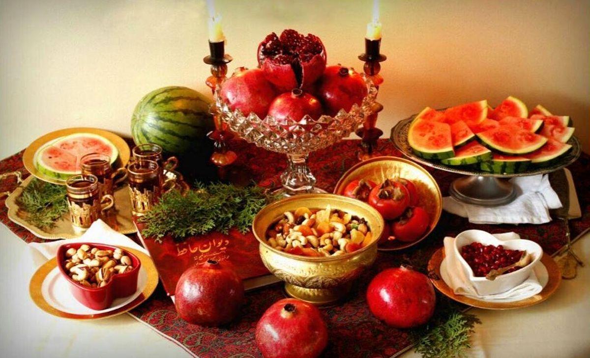 شب یلدا چه تنقلاتی بخوریم؟