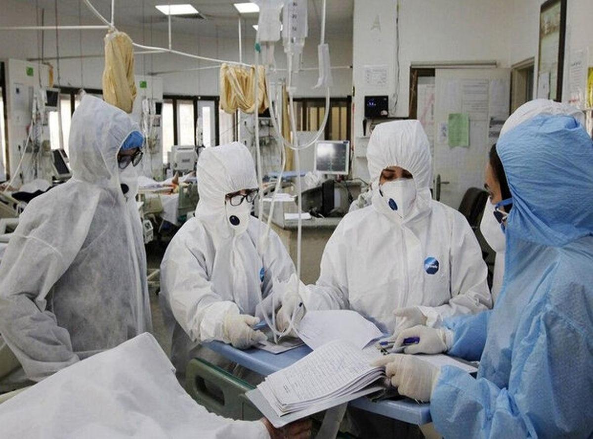 بیمارستانها مملو از بیماران کرونا