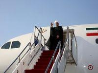 روحانی، سوئیس را به مقصد اتریش ترک کرد