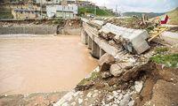 تخریب و آبگرفتگی منازل ۱۵۰۰ خانوار در پلدختر