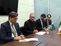 روحانی در دیدار رئیس جمهور پاکستان +تصاویر