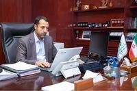 بازدید مجازی صالح آبادی از شعبه سنندج بانک توسعه صادرات ایران
