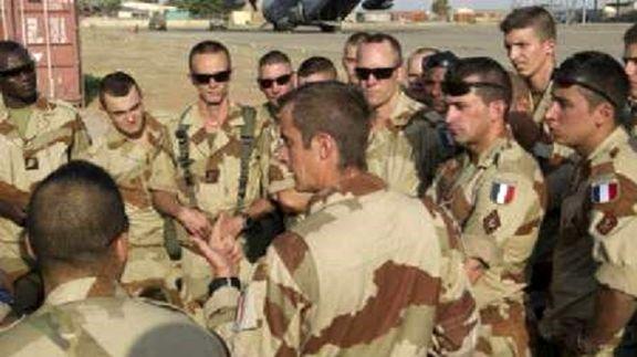 ارتش سوریه ۶۰نظامی فرانسوی را بازداشت کرد