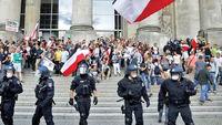 حمله «شهروندان رایش» به پارلمان آلمان