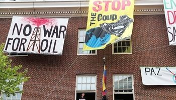 اشغال سفارت ونزوئلا در واشنگتن توسط نماینده مخالفان