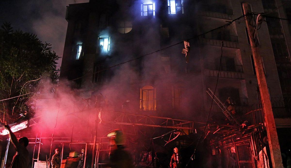 بررسی گزارش آتشسوزی کلینیک سینا مهر در دولت