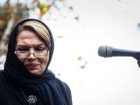 خواننده مشهور زن در مراسم تشییع همکارش +عکس