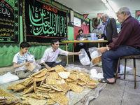 سفره افطار برای رهگذران +تصاویر
