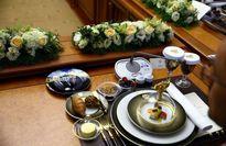 میز پذیرایی اردوغان برای پوتین +عکس