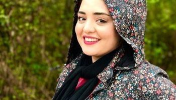 عکسی از نرگس محمدی پشت صحنه سریال ستایش3