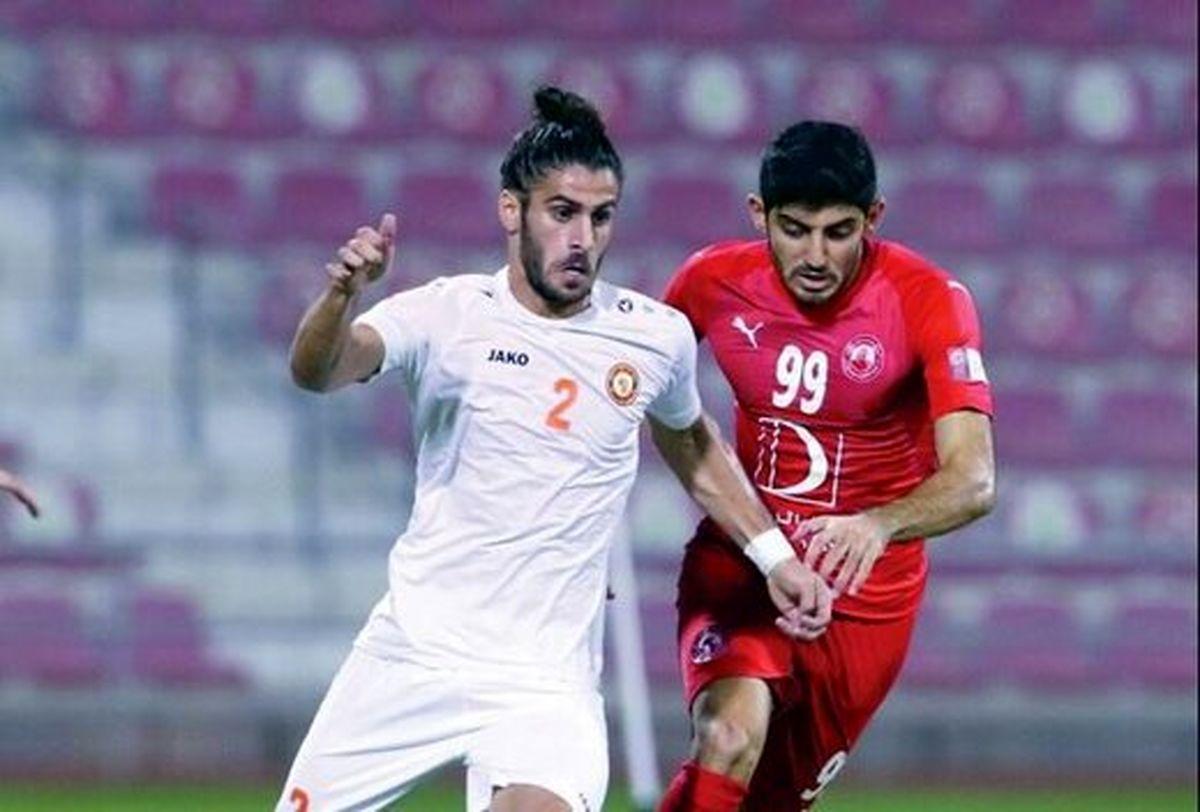 حذف فوتبالیست ایرانی از لیگ قطر! +عکس