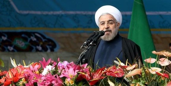 روحانی در راهپیمایی امروز چند پیام قوی به آمریکا داد