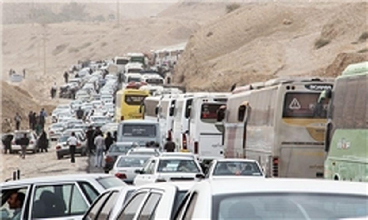 تردد خودروها کاهش یافت، آلودگی نه