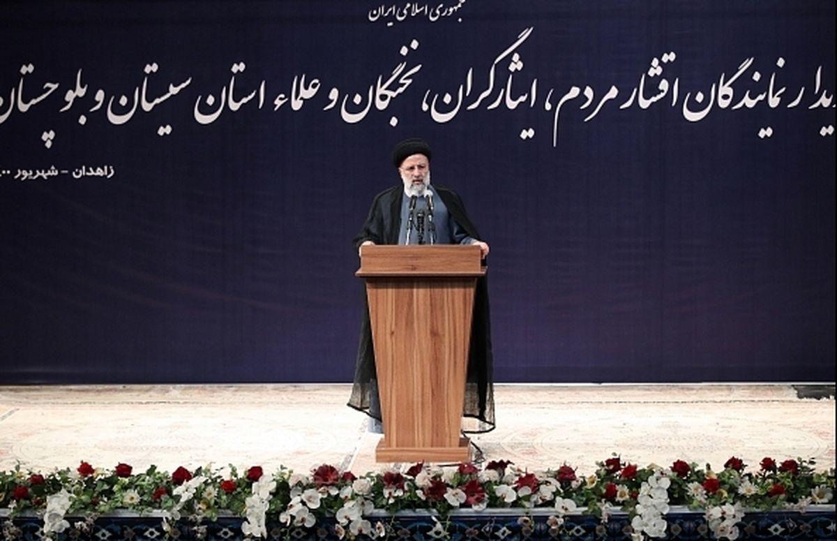 رییسی با علما، ایثارگران و نخبگان سیستان و بلوچستان دیدار کرد