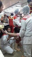چرخ گوشت دست پسر جوان را بلعید +تصاویر