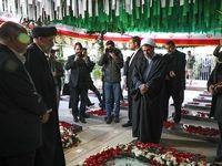 سفر رئیس قوه قضائیه به کرمان +عکس