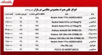 قیمت موبایلهای ویژه عکاسی در بازار تهران +جدول