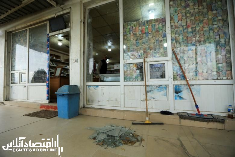 تصاویر رویترز از پایگاه تخریب شده