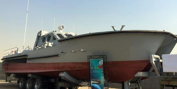 شناور موشکانداز جدید سپاه با سرعت ۸۰کیلومتر +تصاویر
