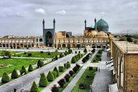 میدان امام (ره) اصفهان در نوروز کرونایی +عکس