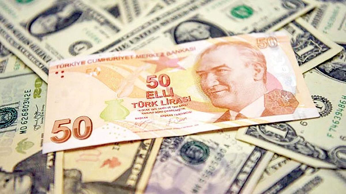 ارزش لیر ترکیه صعودی شد