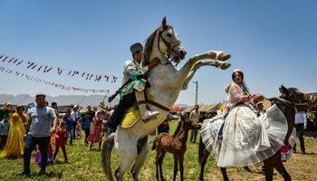 عروسی سنتی قشقایی در فیروزآباد فارس +عکس