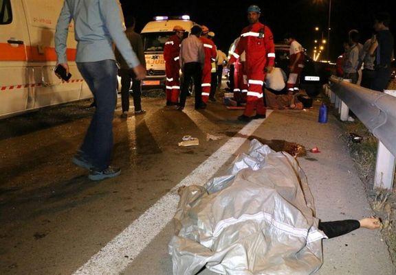 مرگ ۲۱۸۱عابرپیاده در تصادفات ۷ماهه