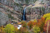 آبشار شگفت انگیز در نزدیکی تهران + عکس