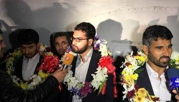 ۴ مرزبانان ربوده شده وارد خاک ایران شدند