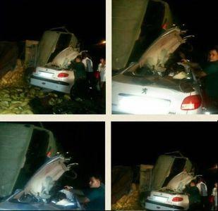 ۱۱ کشته در شب مرگبار جاده سلفچگان +عکس