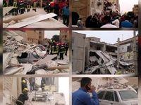انفجار گاز در اهواز یک کشته و ۵مصدوم بر جا گذاشت +عکس