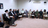 دیدار دستاندرکاران کنگره شهدای استان کردستان با رهبر معظم انقلاب +تصاویر