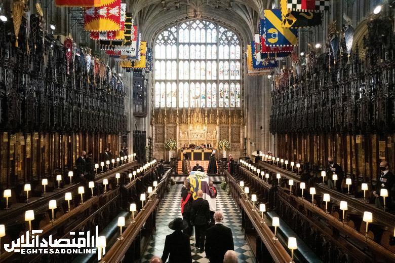 مراسم تشییع جنازه شاهزاده فیلیپ