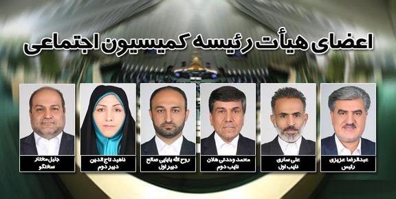 عبدالرضا عزیزی بر کرسی ریاست کمیسیون اجتماعی تکیه زد