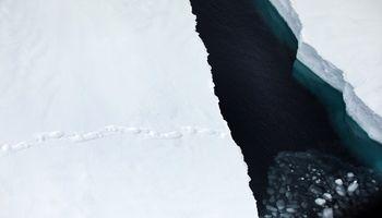نمایی متفاوت از قطب شمال +تصاویر