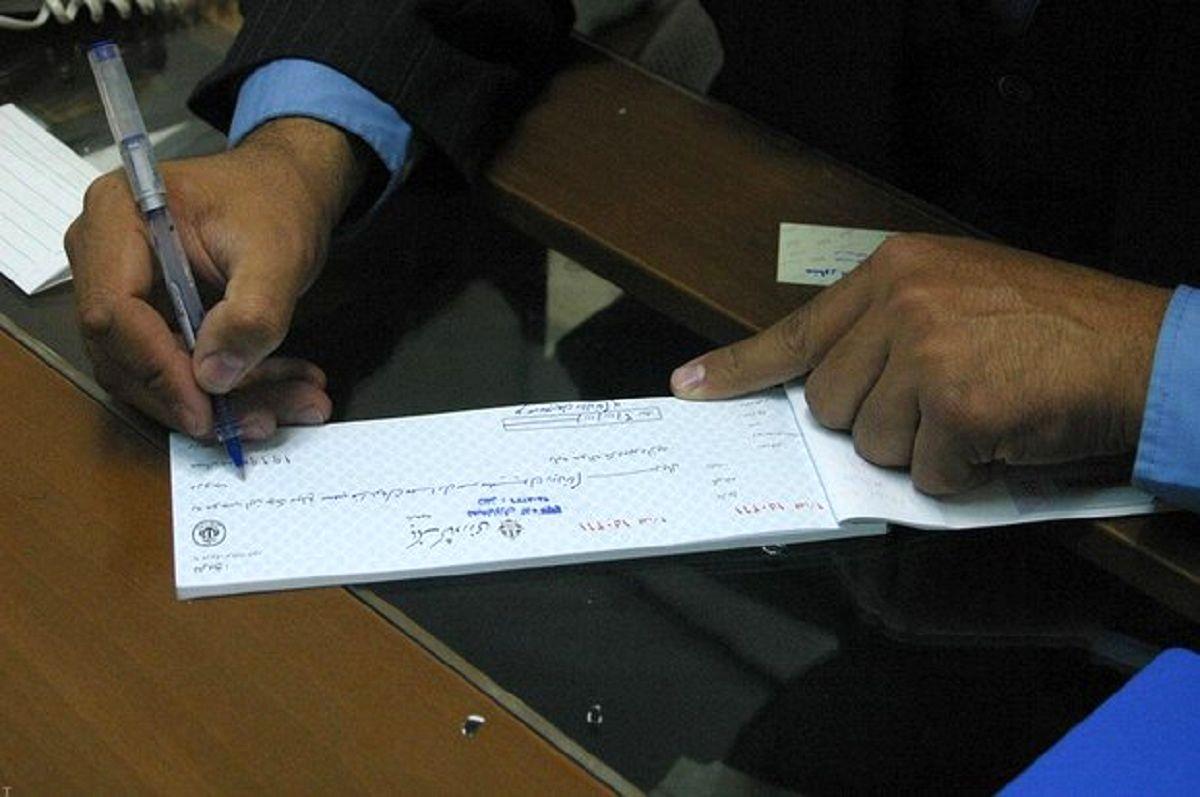 ۷۰۷هزار فقره چک رمزدار در اردیبهشت99 وصول شد