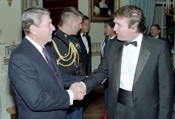 ترامپ: ریگان ۳۰ سال پیش ریاستجمهوری من را پیشبینی کرد!