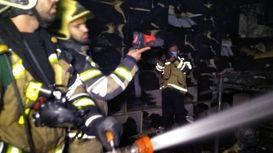 آتشسوزی بزرگ در پالایشگاه نفت حیفا + فیلم