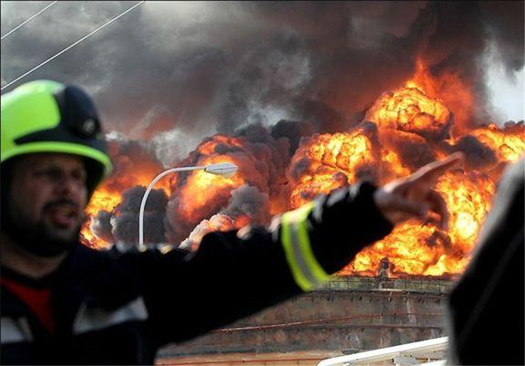 مهار آتش سوزی دوساعته در پارس جنوبی