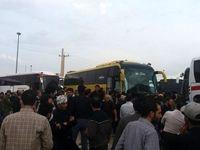 شب سخت زائران در مرز مهران