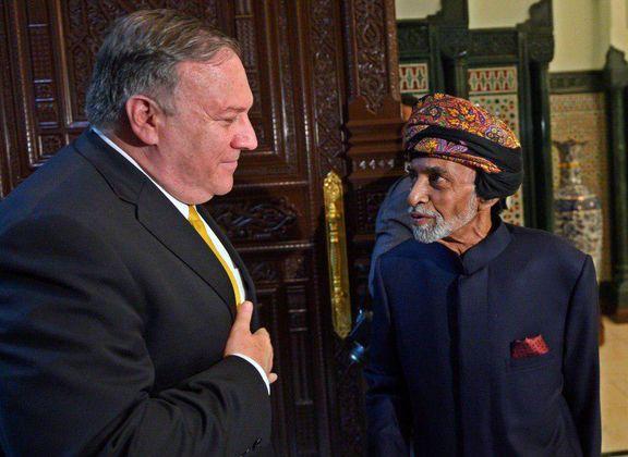 پامپئو با پادشاه عمان در مورد ایران و یمن گفتوگو کرد