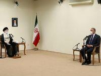دیدار رهبر معظم انقلاب اسلامی با نخست وزیر عراق +عکس