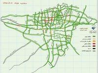 آخرین وضعیت ترافیکی پایتخت +نقشه
