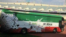 اتوبوس اختصاصی تیم ملی فوتبال ایران +فیلم