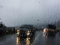 آسمان نجف و کربلا در روز اربعین بارانی است