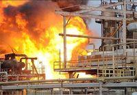 آتشسوزی در پالایشگاه آبادان دو مصدوم بر جای گذاشت