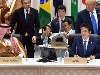دیدار محمد بن سلمان و نخست وزیر ژاپن