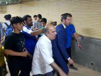 بی نظمی در مسجد سلیمان استراماچونی را فراری داد +عکس