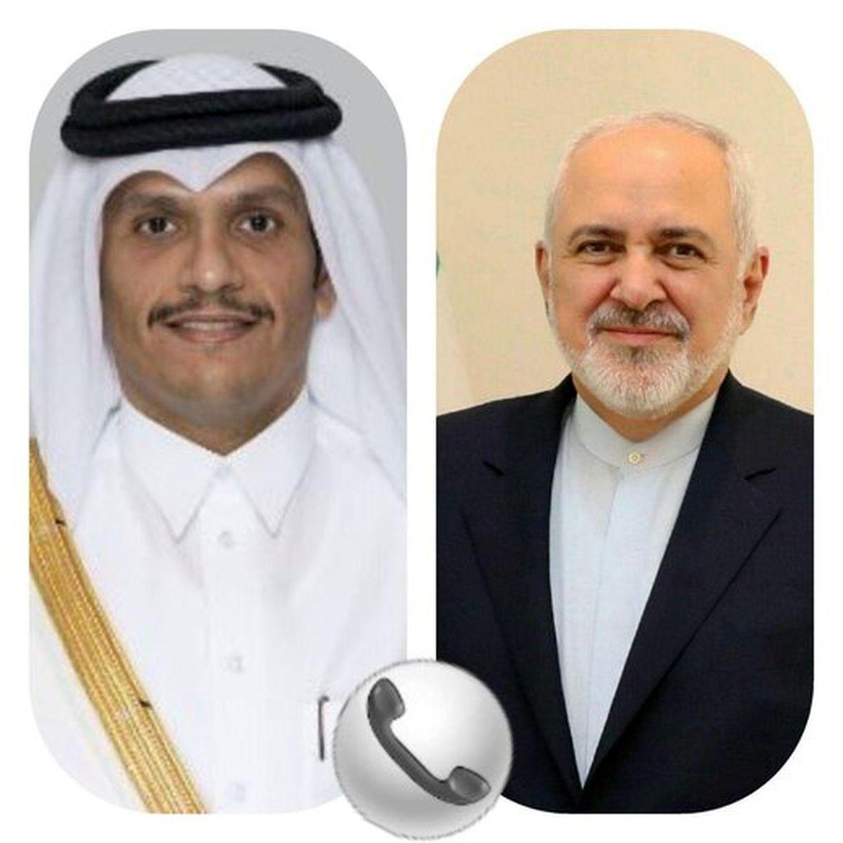 گفتوگوی تلفنی وزیران خارجه ایران و قطر