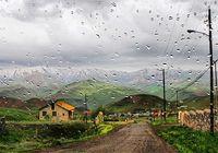 بارش باران و مهگرفتگی در همه محورهای شمالی کشور